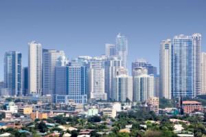 フィリピン。マニラの風景