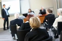 オンライン英会話講師の教育・セミナーシーン